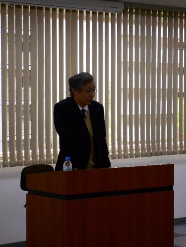 永井晋講師