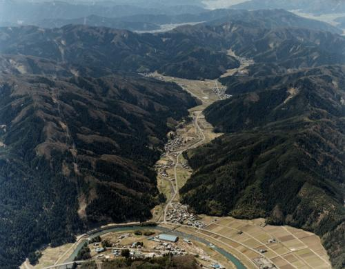 一乗谷の全景
