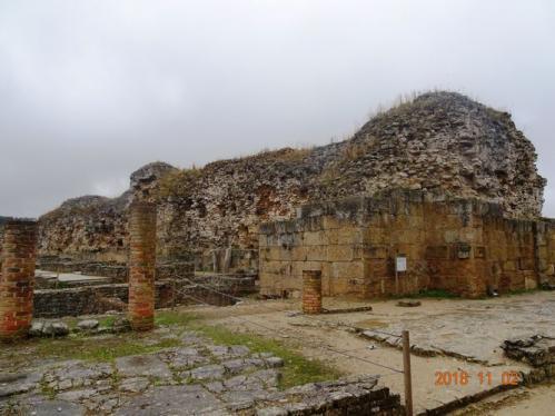 ローマ都市の市門(コニンブリガ、ポルトガル)