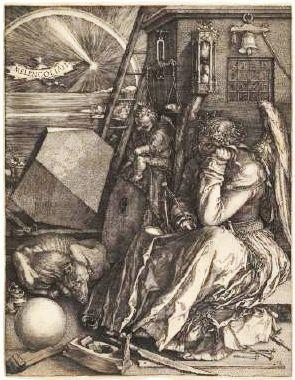 デューラー「メレンコリアⅠ」(1514年)