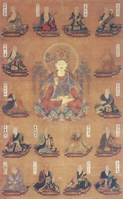 法相曼荼羅図(興福寺蔵)