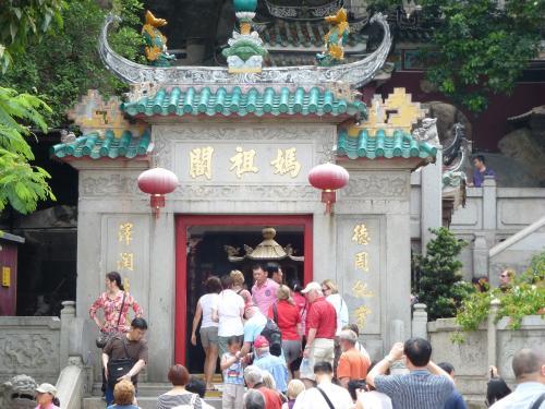 世界遺産マカオ最古の媽閣廟