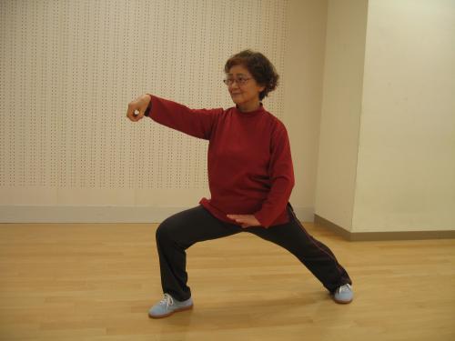24式簡化太極拳(竹村クラス)