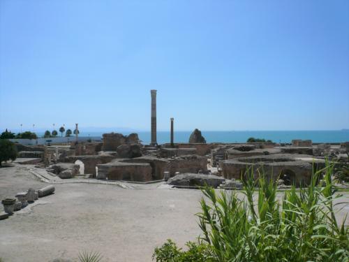 アントニヌスの共同浴場跡