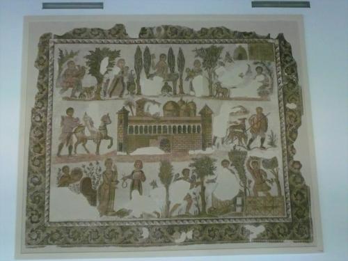 ユリウス卿のモザイク(バルド―博物館蔵)