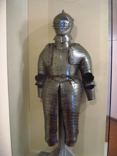 ドイツ騎士団員の甲冑