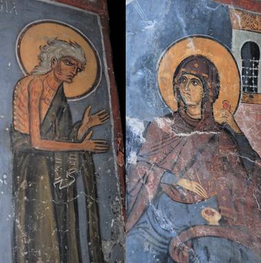 (キプロス島アシヌウ、12世紀)