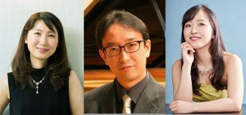 左から高橋多佳子氏(高橋多佳子氏の画像(C)Shinichiro Saigo )、下田幸二氏、三好朝香氏