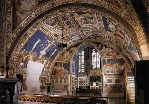 ピエトロ・ロレンツェッティ 「キリスト受難伝」連作 アッシジ サン・フランチェスコ聖堂