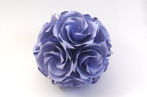 「薔薇のくす玉(U4-30)」