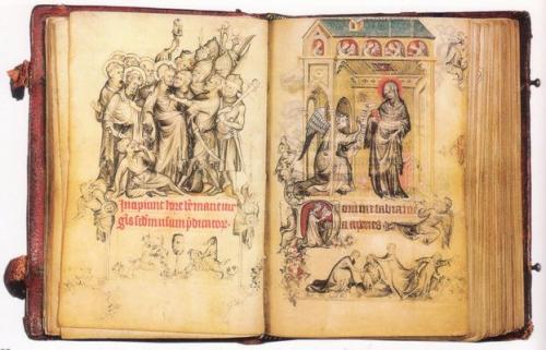 ジャン・ピュセル『ジャンヌ・デヴルーの時祷書』より、1325~28年