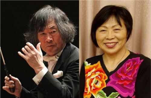 小林研一郎さん(左)中森じゅあんさん(右)