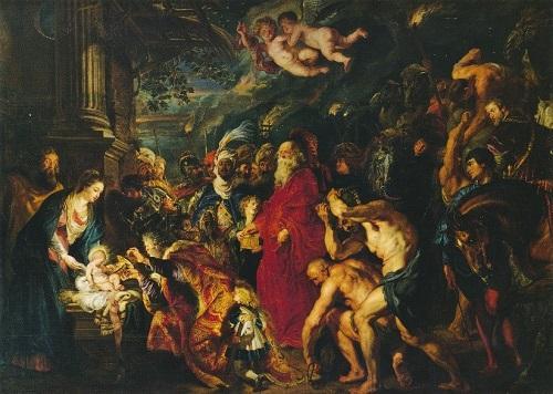 ルーベンス《マギの礼拝》プラド美術館