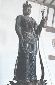 奈良 聖林寺 十一面観音像