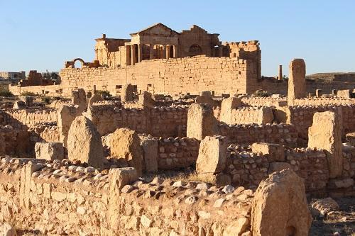 チュニジア・スベイトラのローマ遺跡