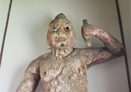諏訪・善光寺「金剛力士像」