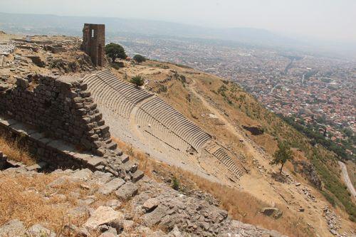 アクロポリスの劇場跡