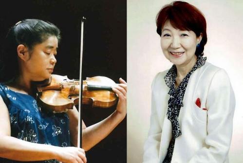 左:天満敦子さん 右:遠藤ふき子さん
