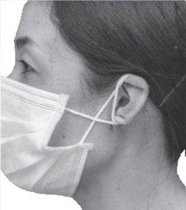 マスク耳輪ゴム