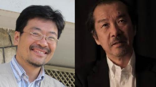 西谷文和さん(左)、佐藤章さん(右)