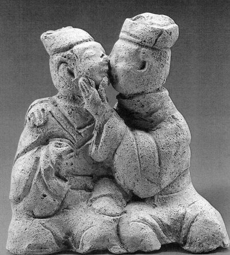 【図11-3】キスから愛撫へ(1969年滎経県新南村出土)