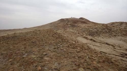 エリドゥ遺跡の祭祀儀礼遺構(講師撮影)