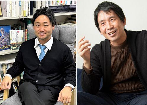 森田講師(左) 東畑講師(右・朝日新聞社提供)