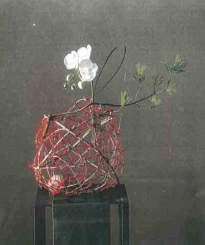 お正月花飾り