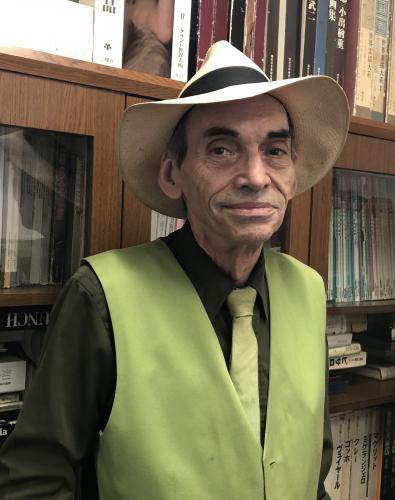講師のグレイアム・ベイカーさん