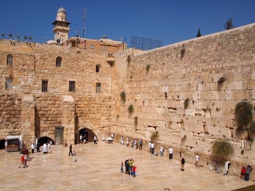 エルサレムの「嘆きの壁」