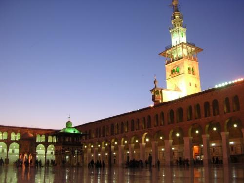 シリア、ダマスカスのモスク