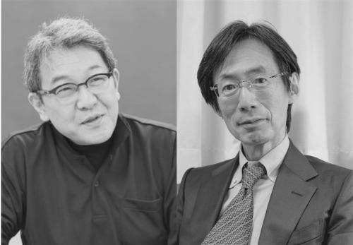 左:井上隆史さん 右:内海健さん