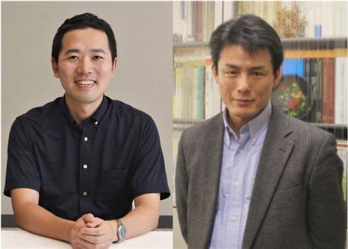 左:岩井圭也氏、右:加藤文元氏