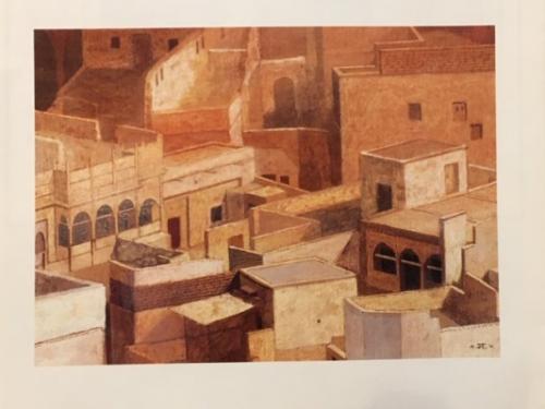 講師作品「風の街 (インド:ジョドプール)」