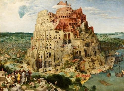 ブリューゲル《バベルの塔》