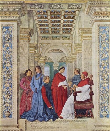 シクストゥス4世によるバチカン図書館長任命