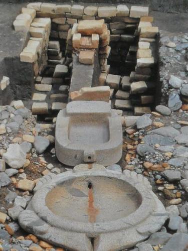 「酒船石遺跡の石造祭祀施設」