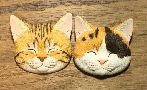 講師作品(猫顔)