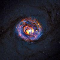 Credit: ALMA (ESO/NAOJ/NRAO)/NASA/ESA/F. Combes