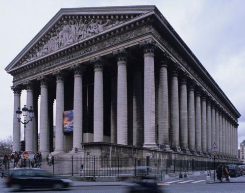 パリのラ・マドレーヌ教会堂(講師撮影)