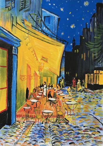 講師作品gogh・Café Terrace at Night
