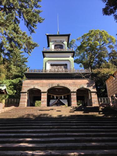 尾山神社楼門