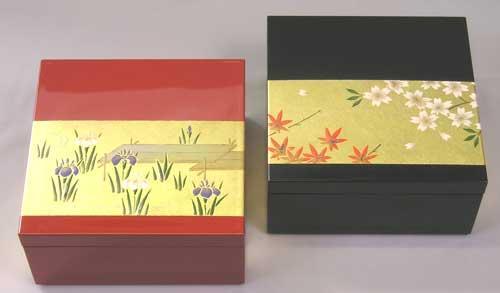 「蒔絵と螺鈿」角箱