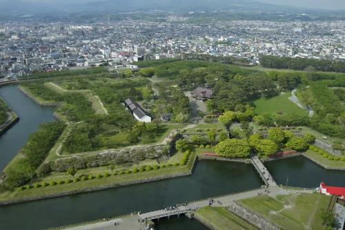 戊辰戦争最後の舞台、北海道函館市の五稜郭