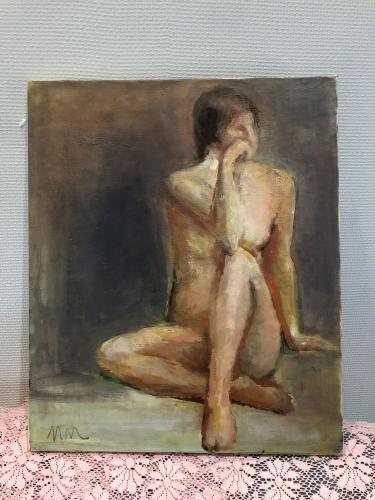 講師作品「裸婦」