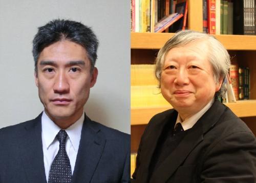 左:岡本隆司氏/右:鈴木董氏