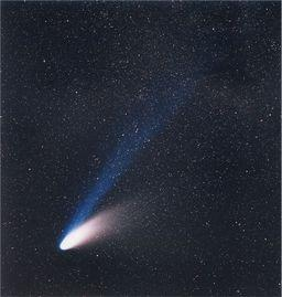 ヘール・ボップ彗星 ⒸESO/E. Slawik