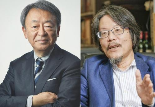 (左) 撮影:東川哲也(朝日出版写真部)