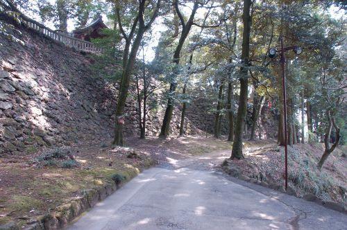 唐沢山城 高石垣