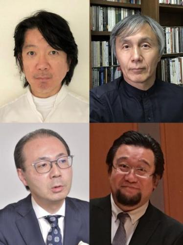 左上:小澤貴広さん、右上:浅野尚幸さん、左下:入山功一さん、右下:安齊慶太さん